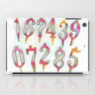 Numbers! White iPad Case