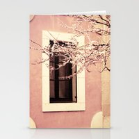 Spring In Pink Stationery Cards