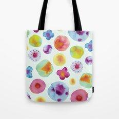 Flower Drops Tote Bag