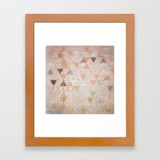 Secret Stones Framed Art Print