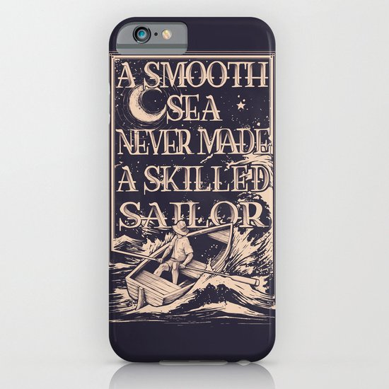 A Smooth Sea iPhone & iPod Case