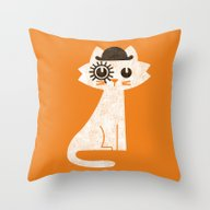 Mark - In Clockwork Oran… Throw Pillow