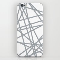 To The Edge Grey iPhone & iPod Skin