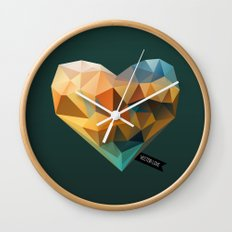 Vector Love 03 Wall Clock