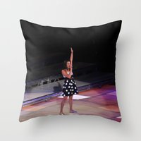 Glee Concert: Lea Michele Throw Pillow