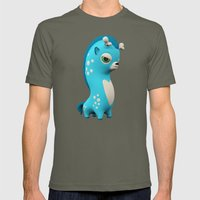 Cool Blue Wippo Mens Fitted Tee Lieutenant SMALL