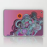 Detailed Diagonal Tangle… Laptop & iPad Skin