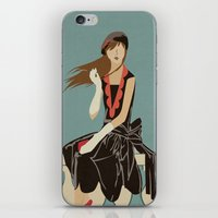 Oh to be French in the 30's iPhone & iPod Skin