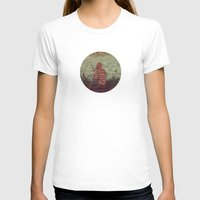Thinking Out Loud Womens Fitted Tee White SMALL
