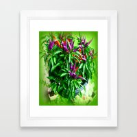 Chilli Peppers Framed Art Print