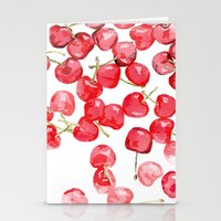 Cherry pies Stationery Cards