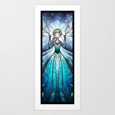 The Snow Queen Art Print