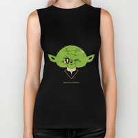 StarWars May the Force be with you (green vers.) Biker Tank