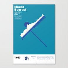 Mount Everest Canvas Print
