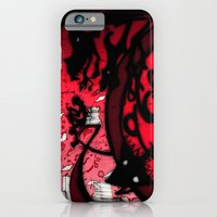 iPhone & iPod Case featuring Time is running out... by Miss Geisterhausen