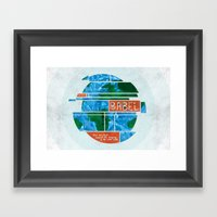 Tower Of Babel (by Amy H… Framed Art Print