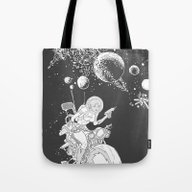Rocket Lass Tote Bag