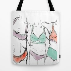 3 women 3 bodies 3lives  Tote Bag