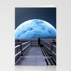 Once in a blue moon Stationery Cards