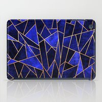 Shattered Sapphire iPad Case