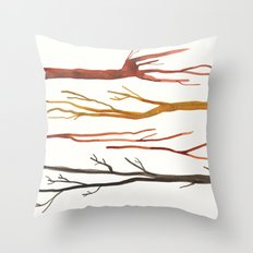 moleskine sticks Throw Pillow