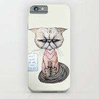 Kitty Got A Haircut iPhone 6 Slim Case