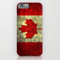 iPhone Cases featuring Oh Canada! by Bruce Stanfield