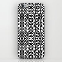 Black and White Tile 6/9/2013 iPhone & iPod Skin