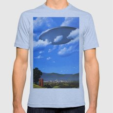UFO Mens Fitted Tee Athletic Blue SMALL