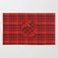 Plaid Pocket - Red Rug