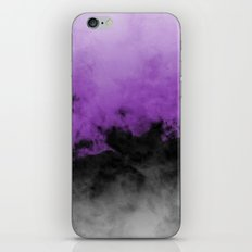 Zero Visibility Radiant Orchid iPhone & iPod Skin