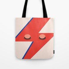Music Minimals - David Bowie Tote Bag