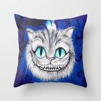 Cheshire Throw Pillow