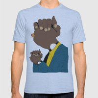 Knuckle Head I - George Mens Fitted Tee Athletic Blue SMALL