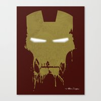 Iron Dirty Man Canvas Print