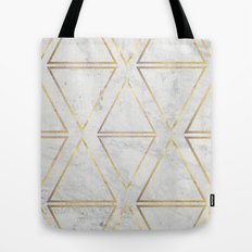 gOld rhombus Tote Bag