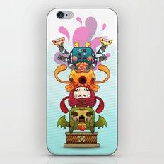 Monster´s Totem iPhone & iPod Skin