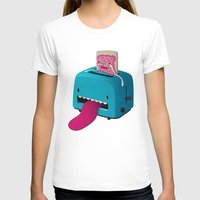 Pop Tart Womens Fitted Tee White SMALL