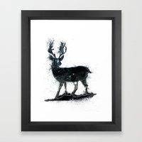 Universal Woodlands Deer Framed Art Print