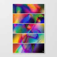 Aura Dream I (Five Panel… Canvas Print