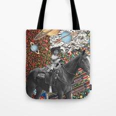 Cowboy and His Guns Tote Bag