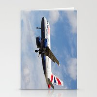 British Airways Airbus A319  Stationery Cards