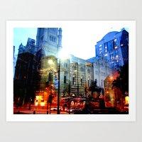 linear city Art Print