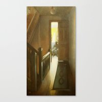 Across The Hall Canvas Print
