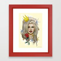 Goddess of LOVE Framed Art Print