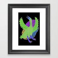 Flying Bird 2 Framed Art Print