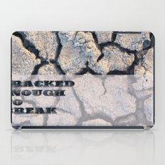 Cracked iPad Case