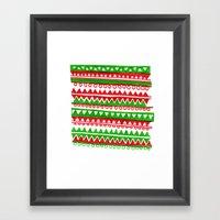 Pattern 2 Framed Art Print