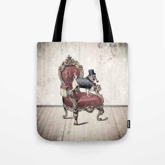 The Imperial Pug Tote Bag