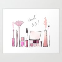 SWEET LITTLE HELPERS  Art Print